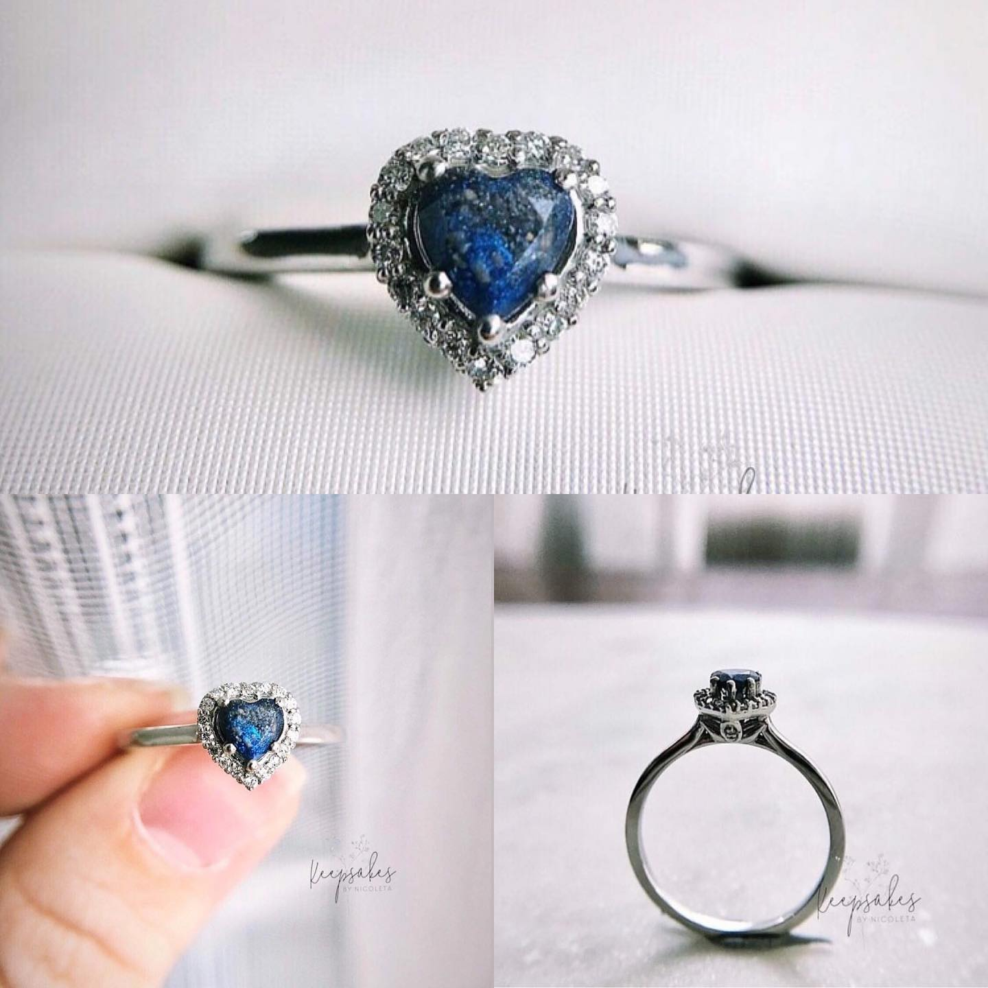 It's OK if you want the Imperial Heart Halo memorial ring