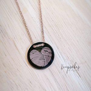 Heart Fingerprints Necklace